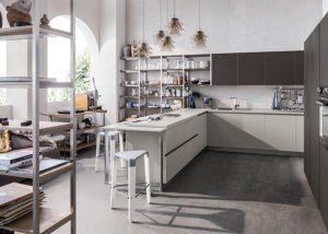 Mise en situation du modèle de cuisine Start J