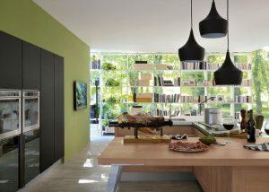 Mise en situation du modèle de cuisine Riflex & Dialogo
