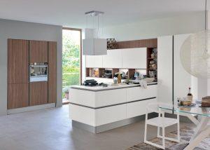 Mise en situation du modèle de cuisine Oyster pro