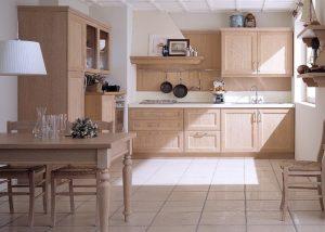 Mise en situation du modèle de cuisine Newport