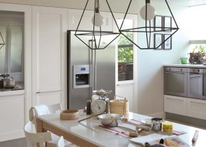 Mise en situation du modèle de cuisine Dialogo