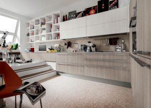 Mise en situation du modèle de cuisine Carrera Plus