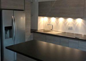 Réalisation de cuisine Oyster decorativo par Socodi