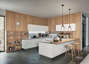 Mise en situation du modèle de Ri-flex veneta socodi cuisine aix en provence