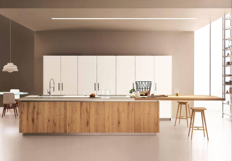 Mise en situation du modèle Lounge veneta socodi cuisine aix en provence